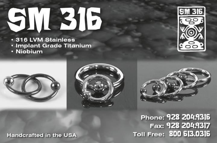 SM316 Body Jewelry
